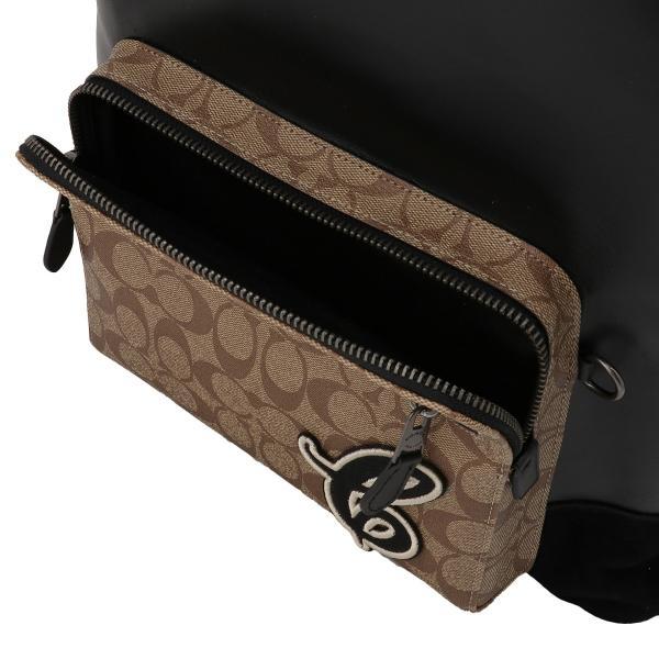 【即納】コーチ Coach ユニセックス バックパック・リュック バッグ Leather Backpack QBTAL シグネチャー F83287|fermart2-store|04