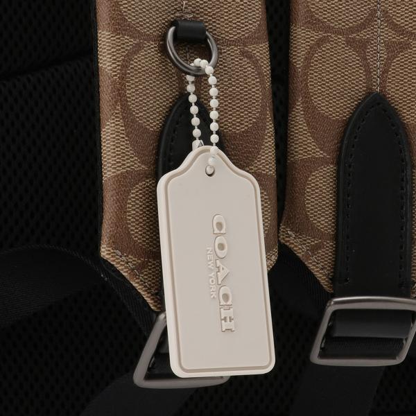 【即納】コーチ Coach ユニセックス バックパック・リュック バッグ Leather Backpack QBTAL シグネチャー F83287|fermart2-store|07