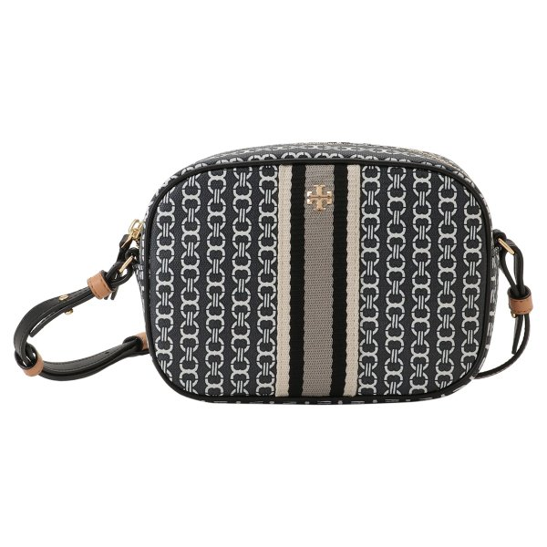 【即納】トリー バーチ Tory Burch レディース ショルダーバッグ バッグ Gemini Link Canvas Mini Bag 57743 Black キャンバス fermart2-store