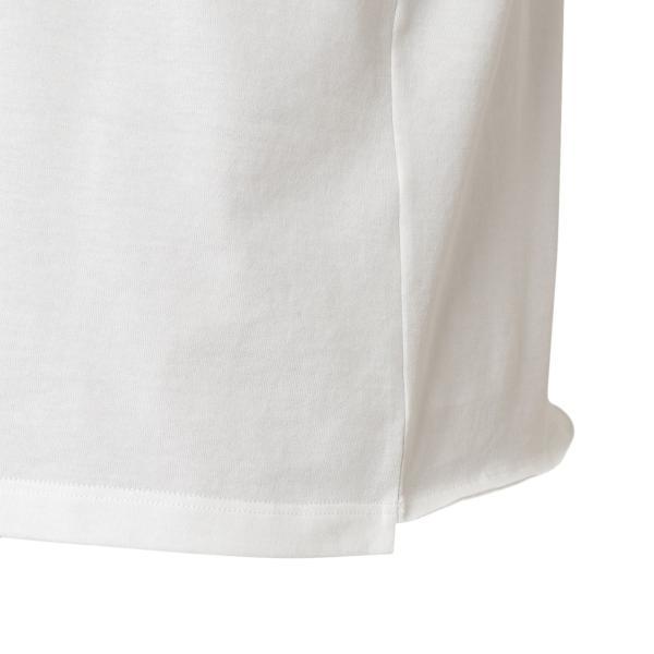 【即納】イヴ サンローラン Saint Laurent メンズ Tシャツ トップス Crew Neck Logo Tee 464572 WHITE クルーネック ロゴプリント|fermart2-store|06