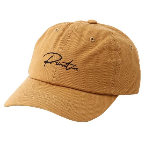 【即納】プリミティブ Primitive ユニセックス キャップ 帽子 GINZA SCRIPT DAD HAT SUN ダッドハット ダッドキャップ ロゴ|fermart2-store