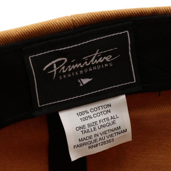 【即納】プリミティブ Primitive ユニセックス キャップ 帽子 GINZA SCRIPT DAD HAT SUN ダッドハット ダッドキャップ ロゴ|fermart2-store|05