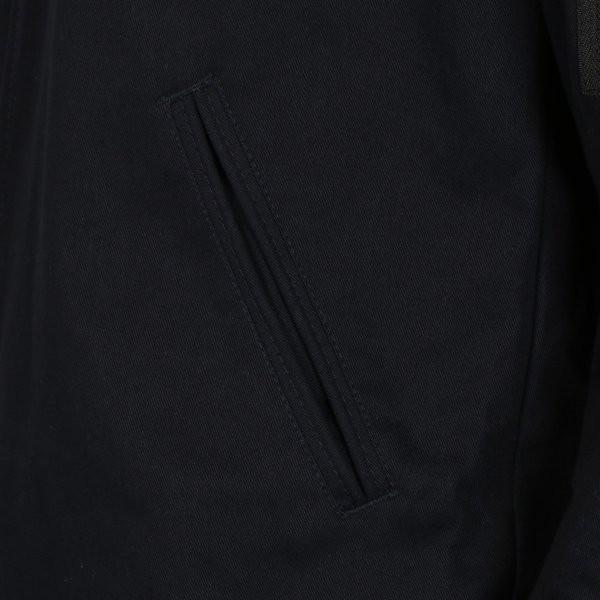 【即納】エイソス ASOS メンズ ジャケット アウター Bomber Jacket With Sleeve Zip Navy|fermart2-store|05