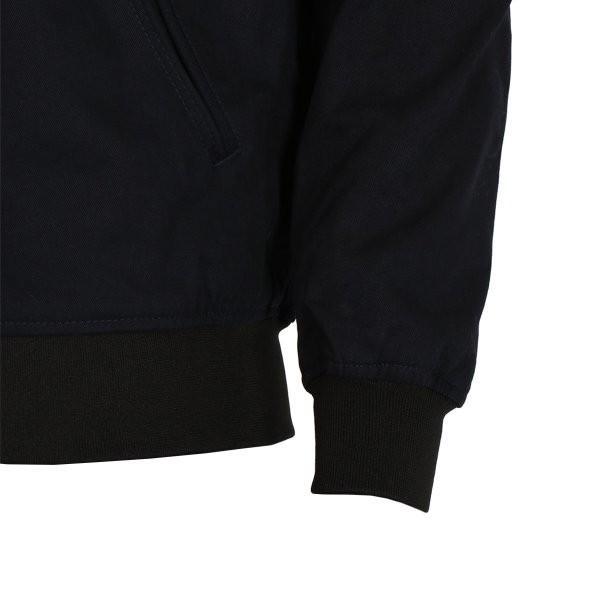 【即納】エイソス ASOS メンズ ジャケット アウター Bomber Jacket With Sleeve Zip Navy|fermart2-store|06