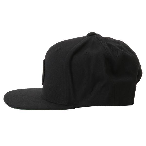 【即納】ルーカ RVCA メンズ キャップ 帽子 Va Patch Snapback BLACK スナップバック ロゴ|fermart2-store|03