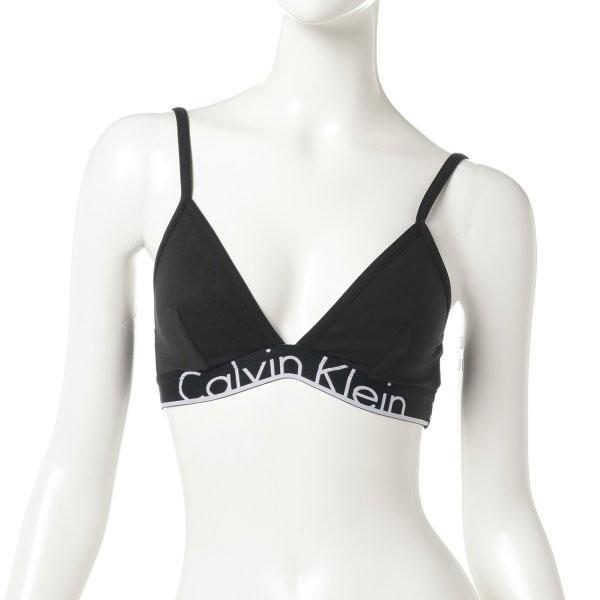 【即納】カルバンクライン Calvin Klein Underwear レディース ブラジャーのみ インナー・下着 ID Triangle Bra Black|fermart2-store