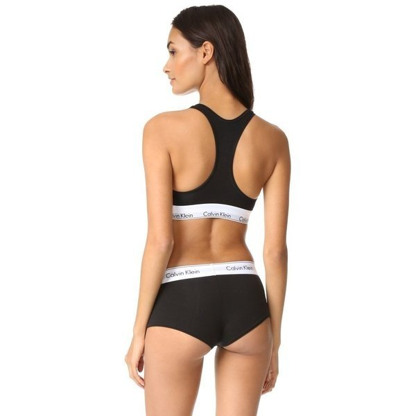 【即納】カルバンクライン Calvin Klein Underwear レディース ブラジャーのみ インナー・下着 Modern Cotton Bralette Black|fermart2-store|05