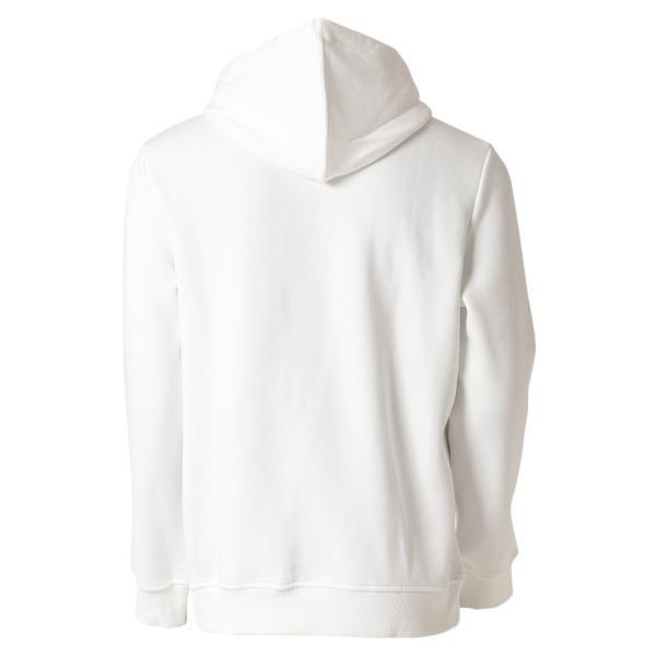 【即納】カルバンクライン Calvin Klein メンズ パーカー トップス CK MONOGRAM LOGO HOODIE BRILLIANT WHITE モノグラム プルオーバー フーディ フード|fermart2-store|02