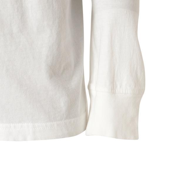 【即納】ルーカ RVCA メンズ 長袖Tシャツ トップス Hazard L/S WHITE ロンT ロングT ロゴ バイアスプリント|fermart2-store|08