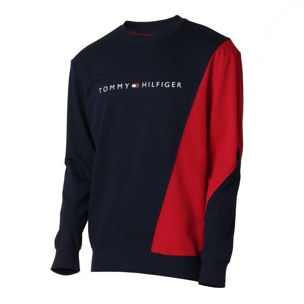 【即納】トミー ヒルフィガー Tommy Hilfiger メンズ スウェット・トレーナー トップス MODERN ESSENTIALS PULLOVER MAHOGANY|fermart2-store