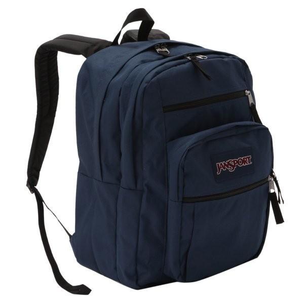 【即納】ジャンスポーツ JANSPORT ユニセックス バックパック・リュック バッグ BIG STUDENT BAG NAVY|fermart2-store
