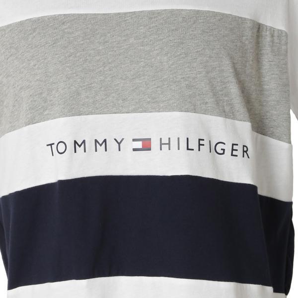 【即納】トミー ヒルフィガー Tommy Hilfiger メンズ Tシャツ トップス S/S CREW TEE WHITE ロゴ クルーネック|fermart2-store|03