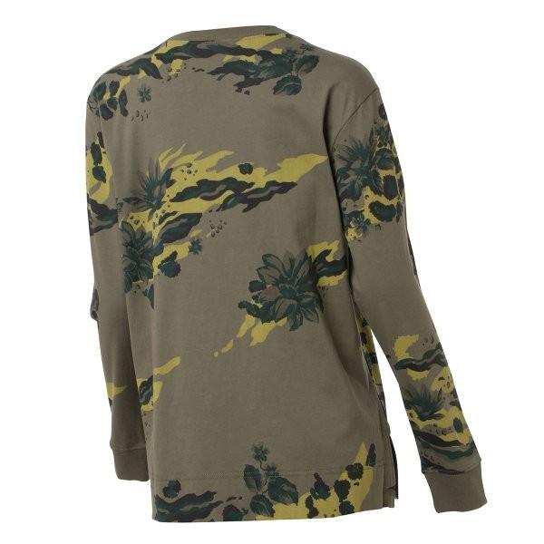 【即納】ナイキ NIKE レディース 長袖Tシャツ トップス ロンT ロングT ロングスリーブ NIKE WOMEN CAMO LS TEE KHAKI|fermart2-store|02