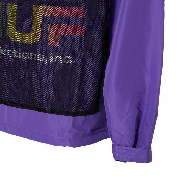 【即納】ハフ HUF メンズ ジャケット アウター アノラック HUF PRODUCTIONS INC ANORAK ULTRA VIOLET fermart2-store 05