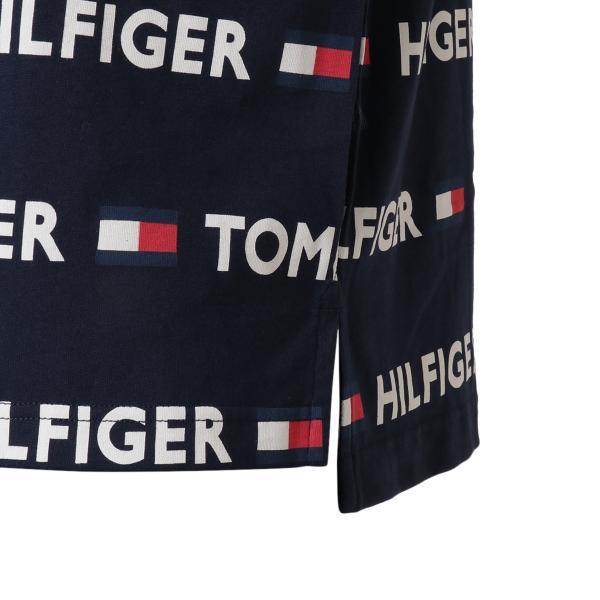 【即納】トミー ヒルフィガー Tommy Hilfiger メンズ Tシャツ トップス CREW TEE DARK NAVY ロゴ 総柄 クルーネック|fermart2-store|07