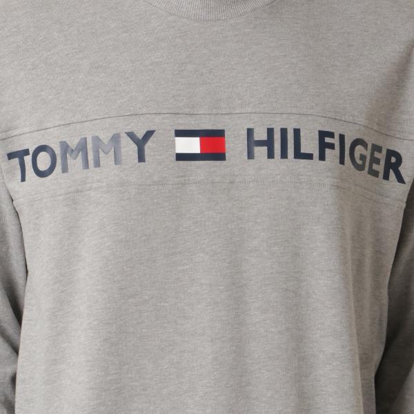 【即納】トミー ヒルフィガー Tommy Hilfiger メンズ 長袖Tシャツ トップス MODERN ESSENTIALS CREW NECK  GRAY HEATHER ロンT ロングT ロゴ プリント|fermart2-store|03