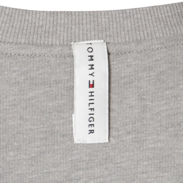 【即納】トミー ヒルフィガー Tommy Hilfiger メンズ 長袖Tシャツ トップス MODERN ESSENTIALS CREW NECK  GRAY HEATHER ロンT ロングT ロゴ プリント|fermart2-store|04