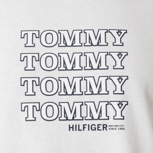【即納】トミー ヒルフィガー Tommy Hilfiger メンズ Tシャツ トップス CREW TEE WHITE ロゴ クルーネック|fermart2-store|03
