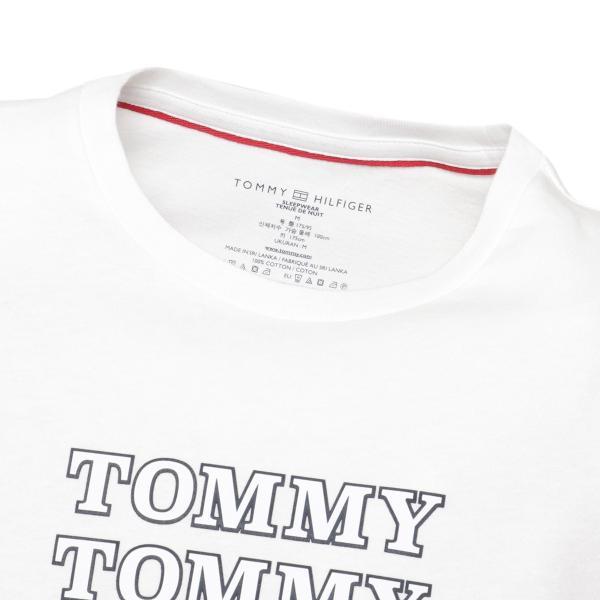 【即納】トミー ヒルフィガー Tommy Hilfiger メンズ Tシャツ トップス CREW TEE WHITE ロゴ クルーネック|fermart2-store|04