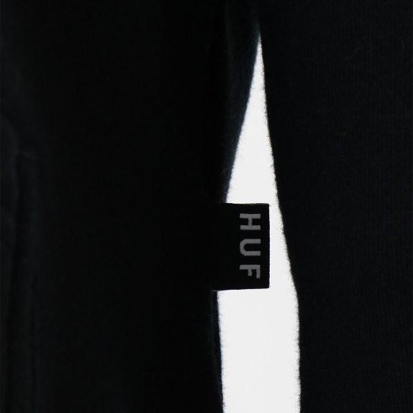 【即納】ハフ HUF メンズ パーカー トップス フーディー プルオーバー TEAM LOGO P/O HOOIDE BLACK BLACK|fermart2-store|04