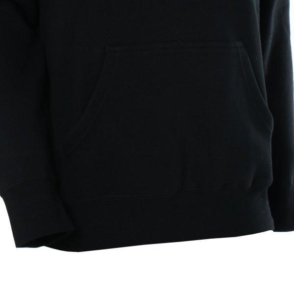 【即納】ハフ HUF メンズ パーカー トップス フーディー プルオーバー TEAM LOGO P/O HOOIDE BLACK BLACK|fermart2-store|06