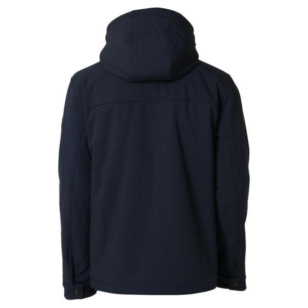 【即納】トミー ヒルフィガー Tommy Hilfiger メンズ ジャケット アウター SOFT SHELL PERFORMANCE HOODY WITH SHERPA LINING MIDNIGHT ナイロン フード fermart2-store 02