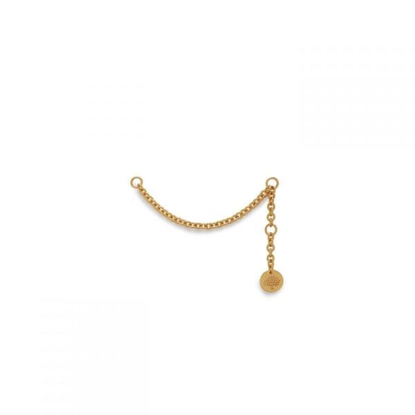 マルベリー Mulberry レディース キーホルダー Chain for initials Brass Gold Brass