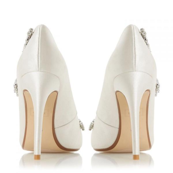 デューン Dune レディース パンプス シューズ・靴 Bestowedd Point Toe Stiletto Court Shoes Ivory