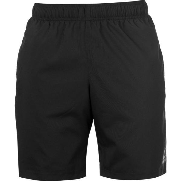 リーボック Reebok メンズ ショートパンツ ボトムス・パンツ Workout Shorts Black|fermart3-store
