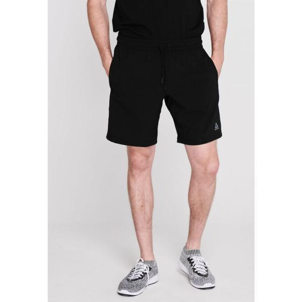 リーボック Reebok メンズ ショートパンツ ボトムス・パンツ Workout Shorts Black|fermart3-store|02