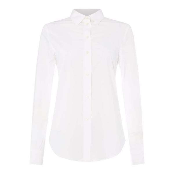 ラルフ ローレン Lauren by Ralph Lauren レディース ブラウス・シャツ トップス LRL Jamelko Shirt White