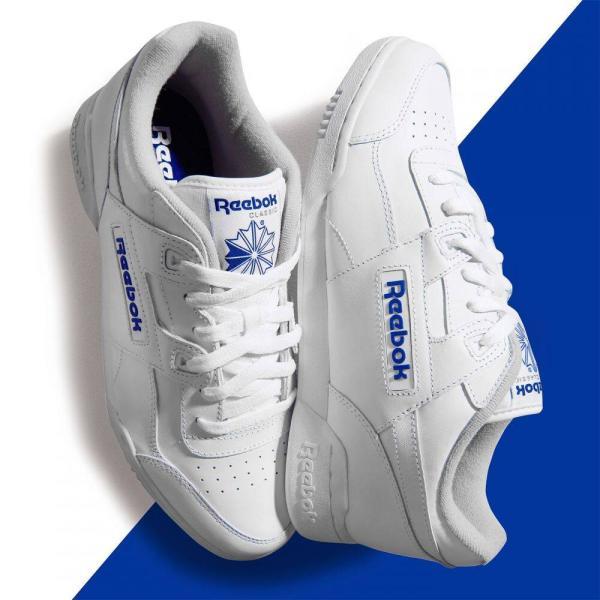 リーボック Reebok メンズ スニーカー シューズ・靴 Workout Trainers White fermart3-store 04