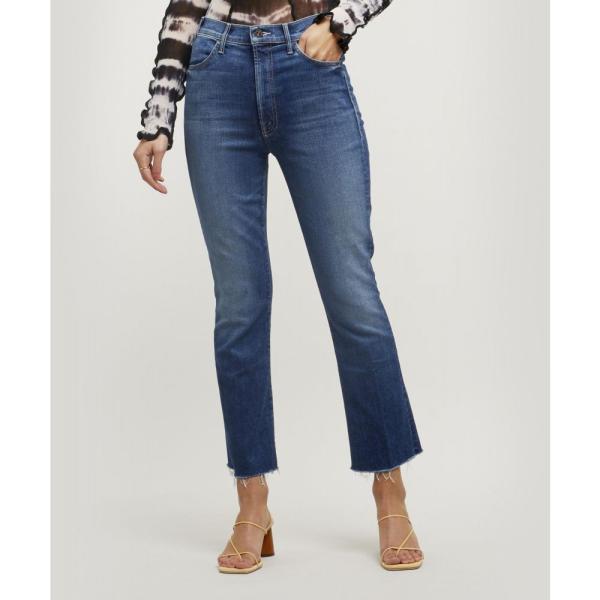 マザー Mother レディース ジーンズ・デニム ボトムス・パンツ The Hustler Ankle Fray Jeans