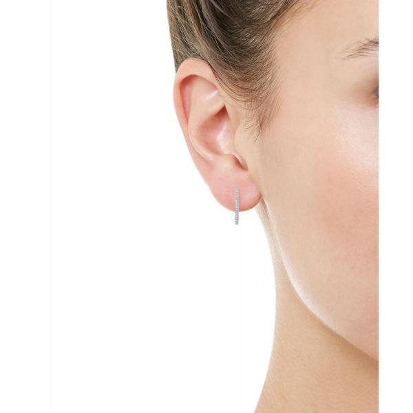 マリアタシュ Maria Tash レディース イヤリング・ピアス ジュエリー・アクセサリー Pave Diamond Bar Earring White gold