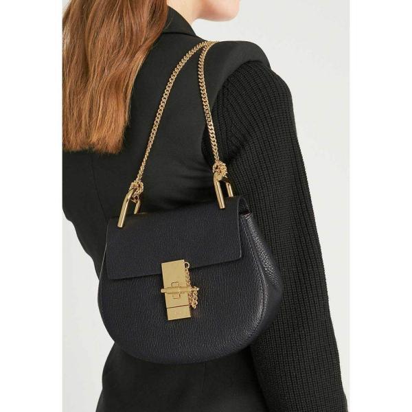 クロエ CHLOE レディース ショルダーバッグ バッグ Drew mini leather cross-body bag Black fermart3-store 02