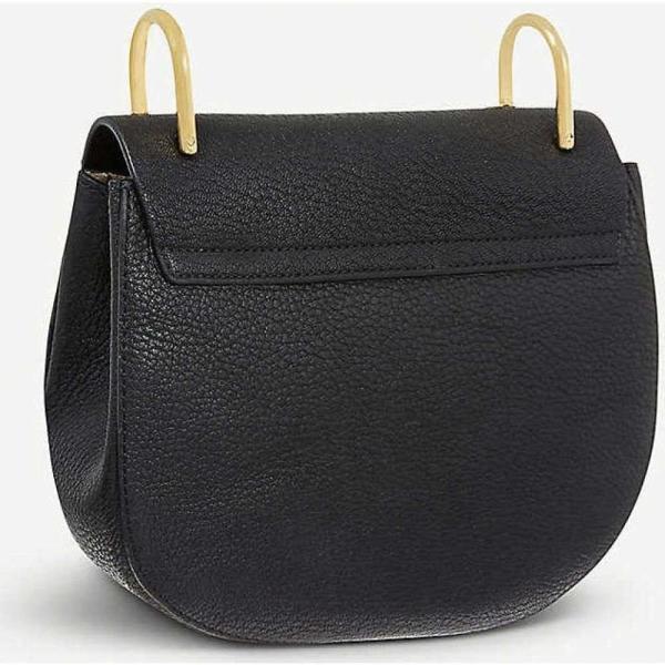 クロエ CHLOE レディース ショルダーバッグ バッグ Drew mini leather cross-body bag Black fermart3-store 03