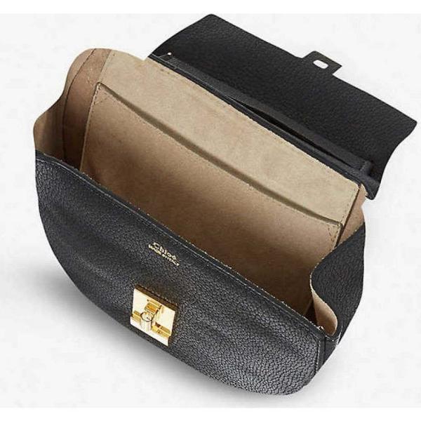 クロエ CHLOE レディース ショルダーバッグ バッグ Drew mini leather cross-body bag Black fermart3-store 04