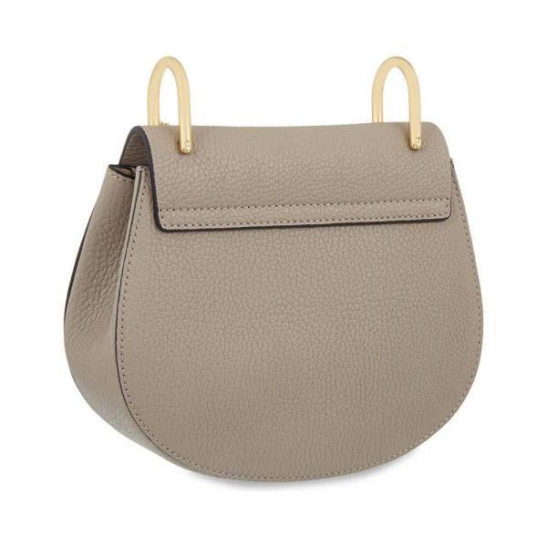 クロエ CHLOE レディース ショルダーバッグ バッグ Drew mini leather cross-body bag Motty grey|fermart3-store|03