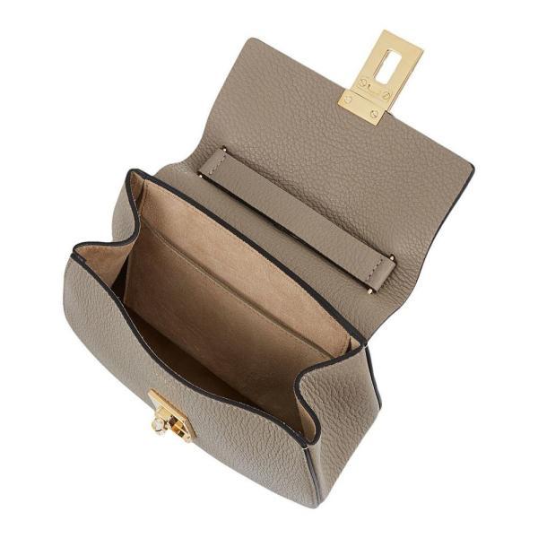 クロエ CHLOE レディース ショルダーバッグ バッグ Drew mini leather cross-body bag Motty grey|fermart3-store|05