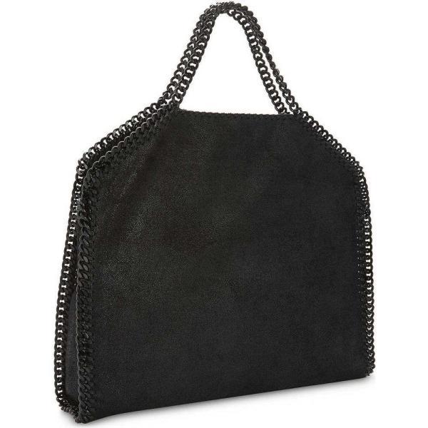 ステラ マッカートニー stella mccartney レディース トートバッグ バッグ falabella faux-leather tote Black black