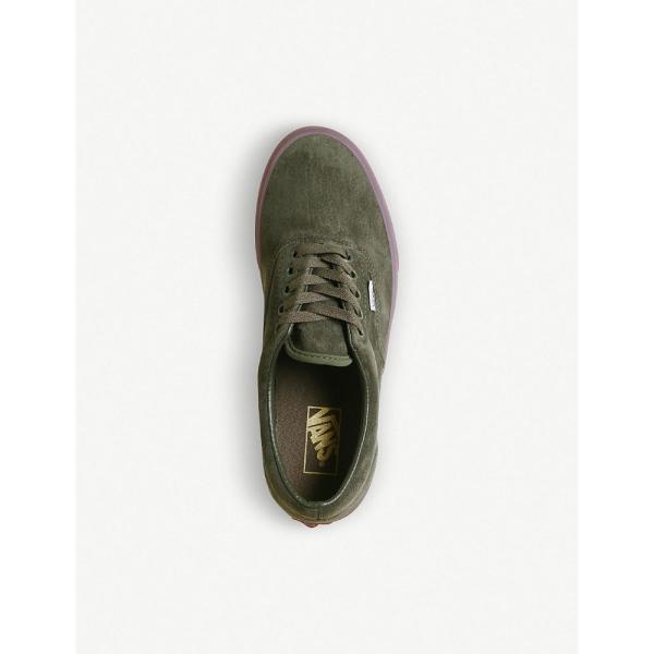 ヴァンズ VANS レディース スニーカー シューズ・靴 era suede trainers Grape leaf checker|fermart3-store|02