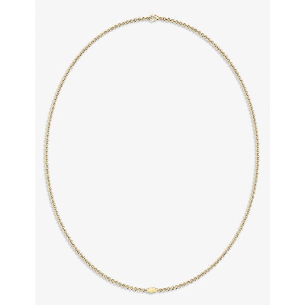 ヴァシ VASHI レディース ネックレス チャーム ジュエリー・アクセサリー Connections 18k yellow-gold charm necklace 18K Yellow Gold