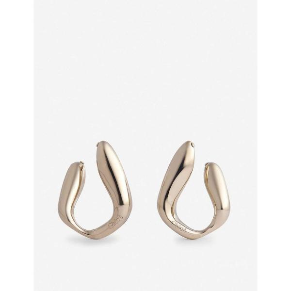クロエ CHLOE レディース イヤリング・ピアス ドロップピアス ジュエリー・アクセサリー Small gold-tone brass drop earrings LIGHT GOLD