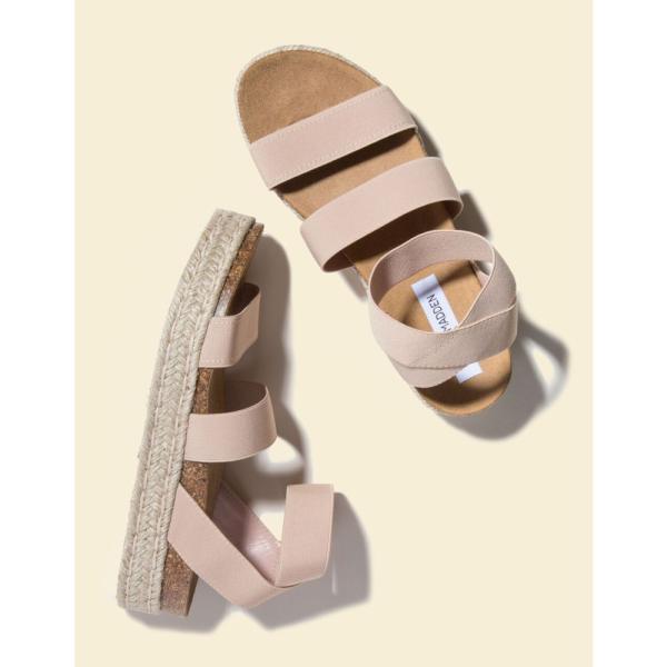 スティーブ マデン STEVE MADDEN レディース エスパドリーユ シューズ・靴 Kimmie Blush Flatform Espadrille Sandals BLUSH