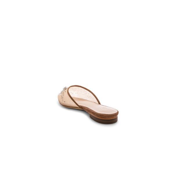エルピーエー LPA レディース スリッポン・フラット シューズ・靴 Vivi Flat Tan