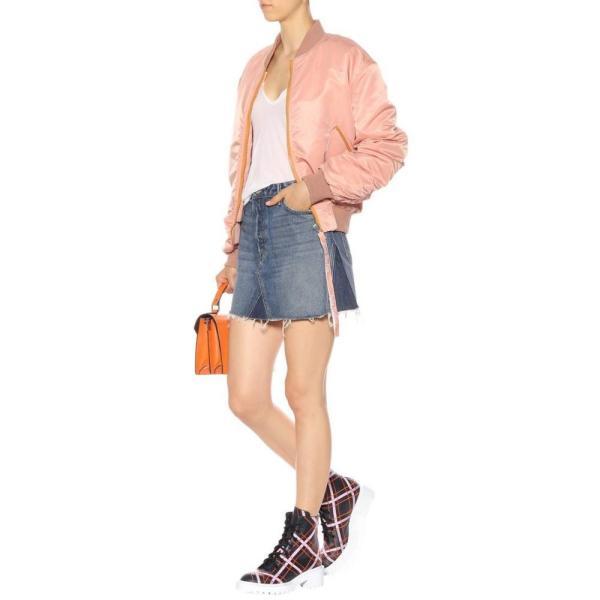 ケンゾー Kenzo レディース ブーツ シューズ・靴 Plaid leather ankle boots