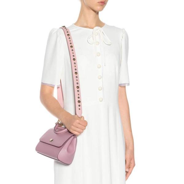ドルチェ&ガッバーナ Dolce & Gabbana レディース バッグストラップ バッグ Leather bag strap Flesh Pink