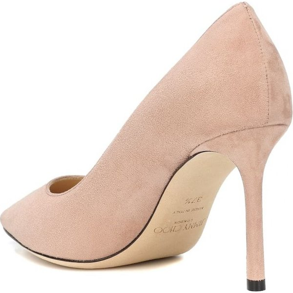 ジミー チュウ Jimmy Choo レディース パンプス シューズ・靴 Romy 85 suede pumps Ballet Pink