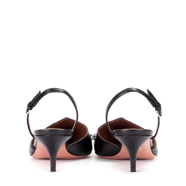 アクアズーラ Aquazzura レディース パンプス シューズ・靴 Cosmic Star 45 embellished leather sling-back pumps