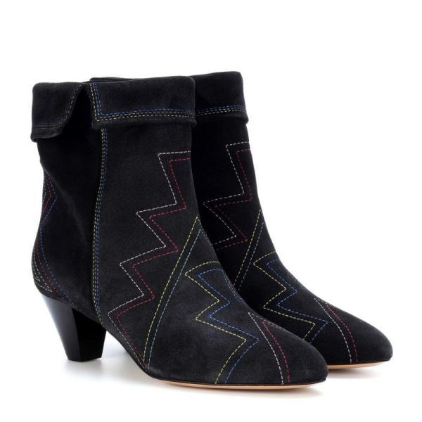イザベル マラン Isabel Marant レディース ブーツ シューズ・靴 Dyna suede ankle boots Faded Black